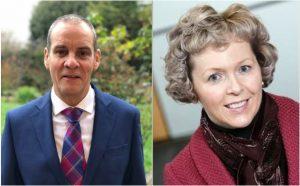New ELEXON Board members David Titterton and Sara Vaughan (March 2019)